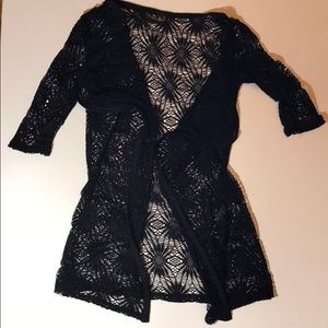 Princess lace cover up szS